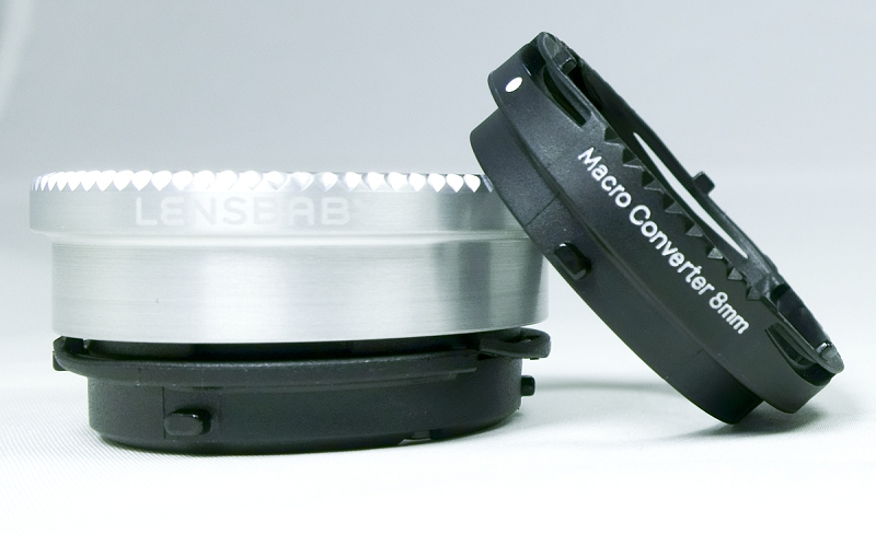 Macro converters for the Lensbaby Sweet 50 and Edge 80 optics