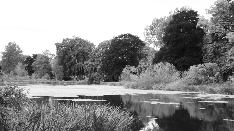 Fyvie loch converted to B+W