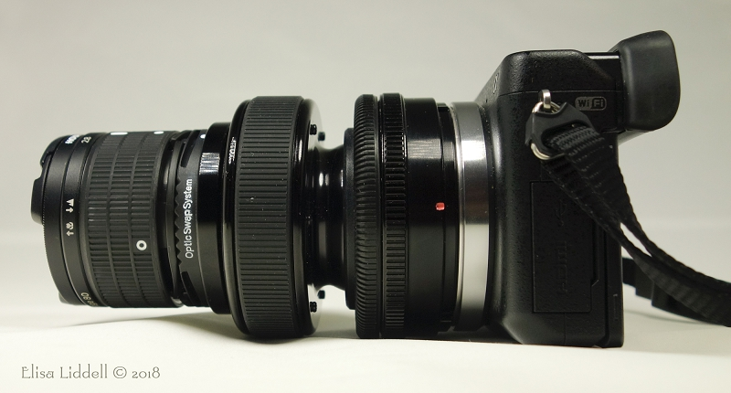 The Edge 80 optic on the Sony NEX-6 body