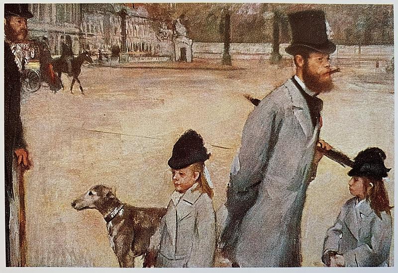 Degas Place de la Concorde