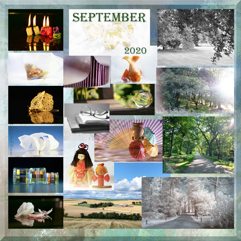 September 2020 collage