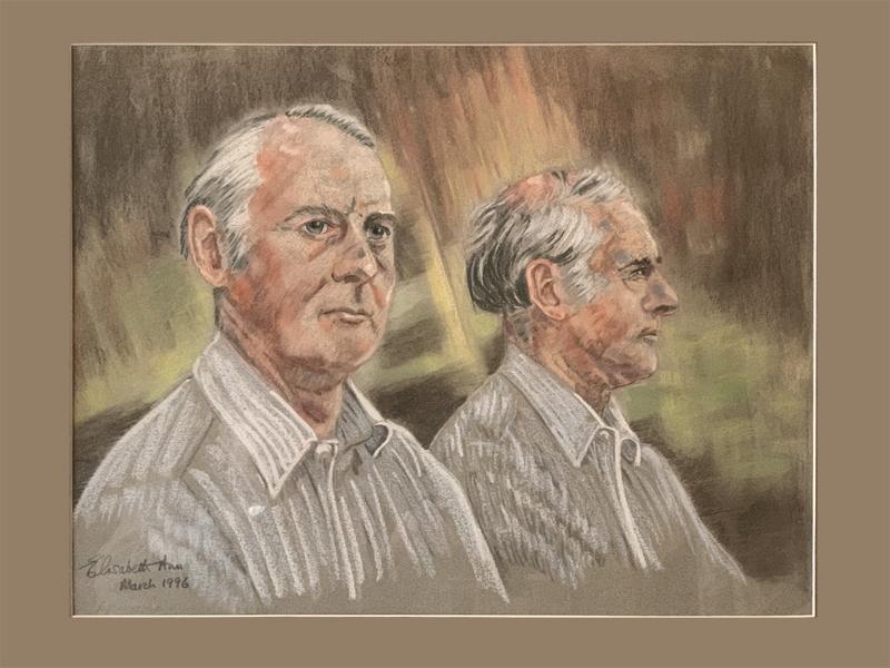 Dave Gavine pastel portrait