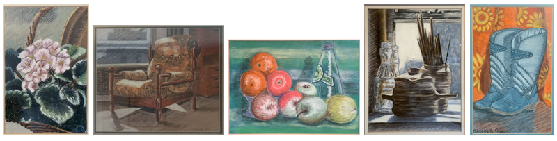 5 pastels of everyday things